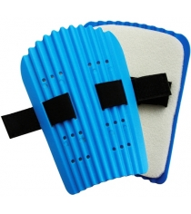 Щитки Leco футбольные для голени размер L гп131071