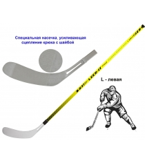 Клюшка хоккейная Leco-IT Pro Force Control L 100 гп201224