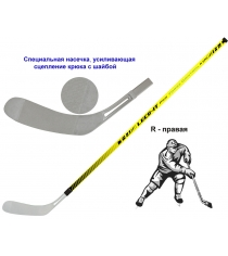 Клюшка хоккейная Leco-IT Pro Force Control R 100 гп201235