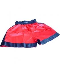 Трусы боксерские Leco красные размер S т12051-к