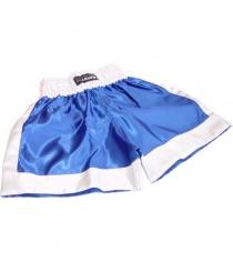 Трусы боксерские Leco синие размер M т12052-с