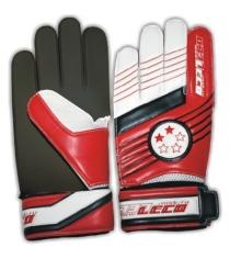 Перчатки футбольные вратарские Leco 2 звезды размер S т131001