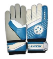 Перчатки футбольные вратарские Leco 3 звезды размер S т131011