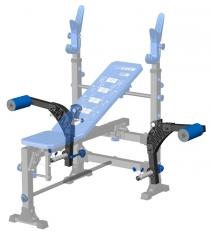 Рычаги для рук для скамьи под штангу Leco It Pro гп027044