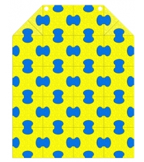 Пазловый коврик Leco под ДСК пристенный Leco It 100х125 cм гп030805