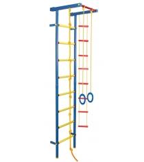 Детский спорткомплекс пристенный Leco It гп030945 Металл