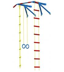 Детский спорткомплекс навесной средний Leco It