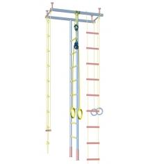 Кольца гимнастические динамические большие Leco для ДСК гп030976