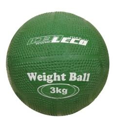 Мяч Leco для атлетических упражнений резиновый 3 кг т2211...