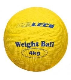 Мяч Leco для атлетических упражнений резиновый 4 кг т2213...