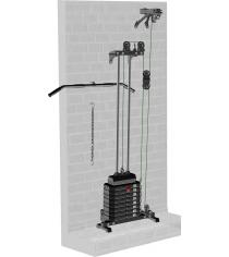Блоковый тренажер пристенный Leco Starter гп044110