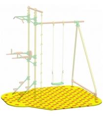 Коврик Puzzle Playground для качелей с турником и брусьями Leco-IT Outdoor гп050958
