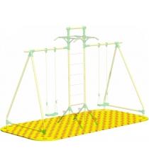 Коврик Puzzle Playground для качелей парных с лестницей c турниками Leco-IT Outdoor гп050962
