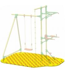 Коврик Puzzle Playground для качелей с турником и брусьями Leco-IT Street гп050972