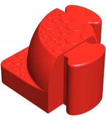 Соединительный уголок Leco Walkedge 7 см гп055020