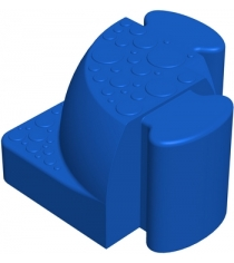Соединительный уголок Leco Walkedge 7 см гп055020-1