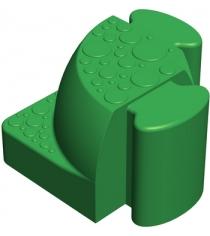 Соединительный уголок Leco Walkedge 7 см зеленый