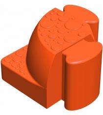 Соединительный уголок Leco Walkedge 7 см гп055020-3