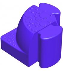 Соединительный уголок Leco Walkedge 7 см гп055020-4