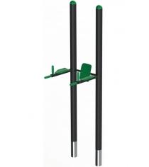 Брусья Workout Leco со спинкой и подлокотниками 2,5 м гп061158