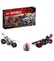Lego Ninjago уличная погоня 70639