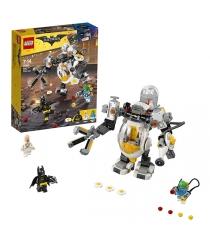 Lego Batman movie бой с роботом яйцеголового 70920