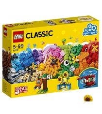Конструктор Lego classic кубики и механизмы 244 элемента 10712
