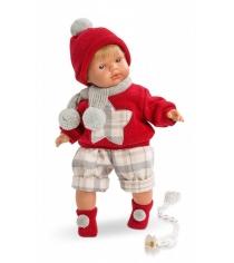 Кукла Llorens Juan Саша 38 см L 38545
