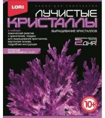 Лучистые кристаллы фиолетовый кристалл Lori Лк-007
