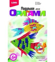 Модульное оригами рыбки Lori Мб-023