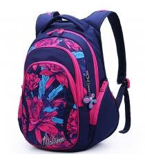 Рюкзак молодежный Maksimm цветы B057-2