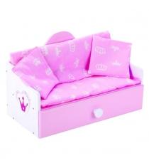 Кроватка софа деревянная корона Mary Poppins 67366