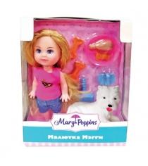 Кукла Mary Poppins Мегги 9см с питомцем 451177