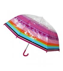 Детский зонтик трость Mary Poppins радуга 46 см 53571