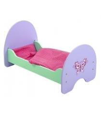 Кроватка Mary Poppins деревянная Бабочка 51х30х25см 67117