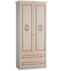 Шкаф двух створчатый с ящиками Алиса Mebelson