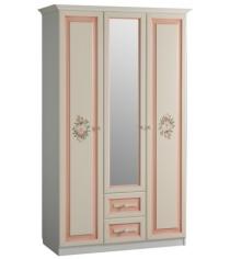 Шкаф трех створчатый с ящиками Алиса