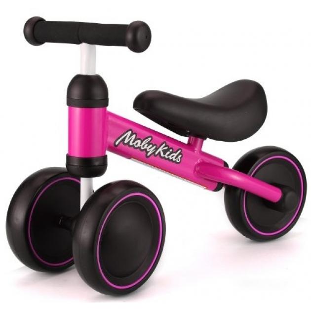 Беговел Moby Kids KidBike розовый 641161