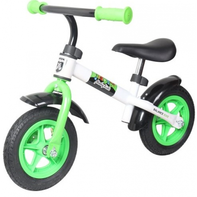 Беговел Moby Kids KidRun 10 бело зеленый 641166