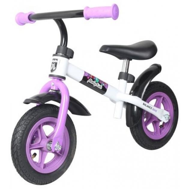 Беговел Moby Kids KidRun 10 бело фиолетовый 641167