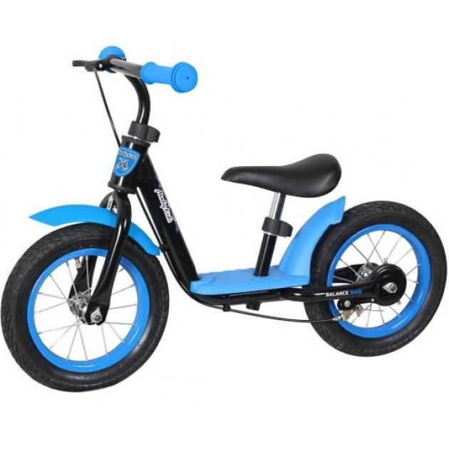 Беговел Moby Kids KidRun 12 сине черный 641168