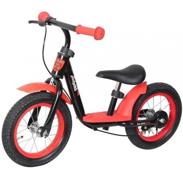 Беговел Moby Kids KidRun 12 красно черный 641168