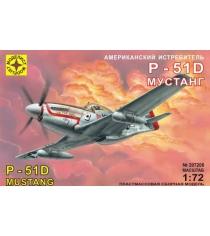 Модель американский истребитель p 51d мустанг 1:72 Моделист 207208