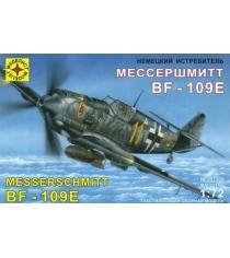 Модель немецкий истребитель мессершмитт 1:72 Моделист 207209