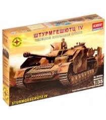 Модель танк штурмгешютц iv 1:35 Моделист 303504