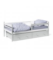 Кровать тахта Можга Красная Звезда Р425 белый серый...