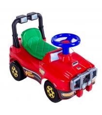 Автомобиль каталка джип красный 6642