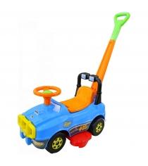 Автомобиль джип каталка Molto с ручкой 2 красный 6780