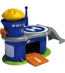 Автогородок полицейский участок с машинкой Mondo 56044