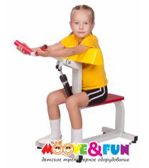 Детский тренажер Бицепс трицепс MF-E02 Moove&Fun